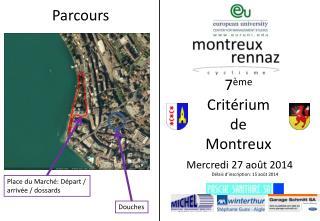 7 ème Critérium  de  Montreux