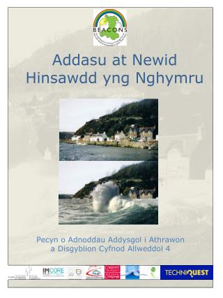 Addasu  at Newid Hinsawdd yng Nghymru