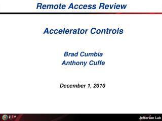 Remote Access Review