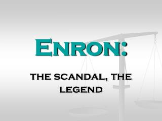 Enron: