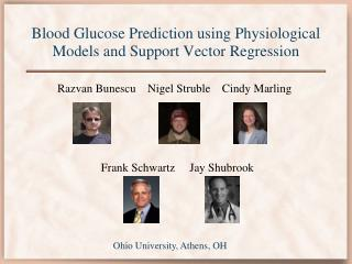 Blood Glucose Prediction using Physiological Models and Support Vector Regression
