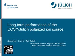 Long term performance of the COSY/Jülich polarized ion source
