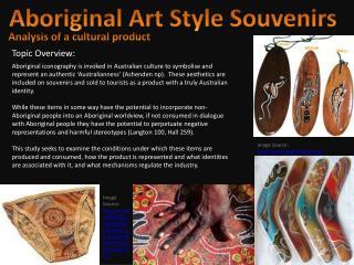 Aboriginal Art Style Souvenirs