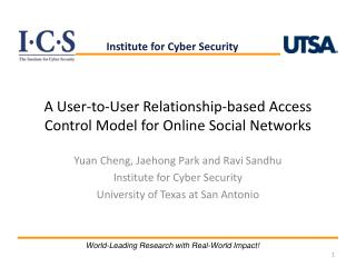 A User-to-User Relationship-based Access Control Model for Online Social Networks