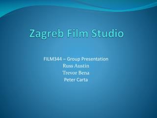 Zagreb Film Studio