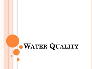 Water Quality