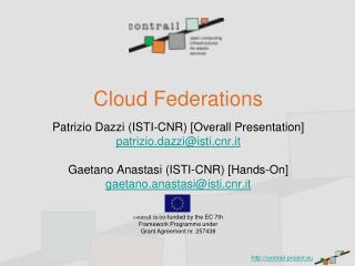 Cloud Federations