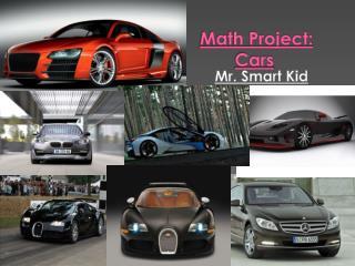 Math  Project: Cars