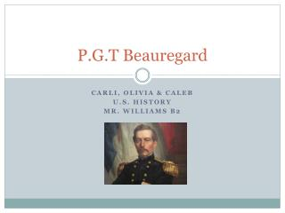 P.G.T Beauregard