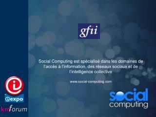 Présentation de Social Computing