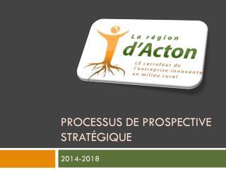 Processus de prospective stratégique