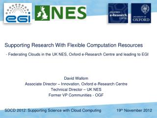 Supporting Research With Flexible Computation Resources