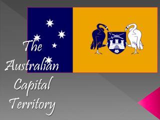 The Australian Capital Territory