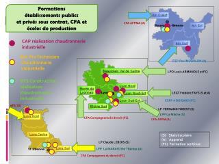 CAP réalisation chaudronnerie industrielle