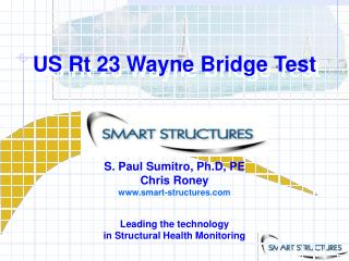 US Rt 23 Wayne Bridge Test