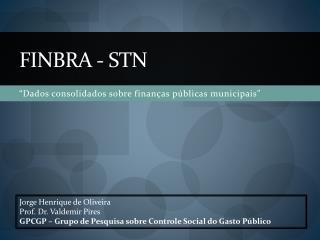 FINBRA - sTN