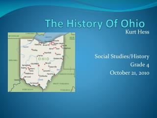 The History Of Ohio