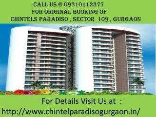 Chintels Paradiso - Chintel Paradiso Gurgaon Call@0931012377