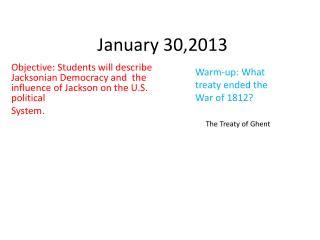 January 30,2013