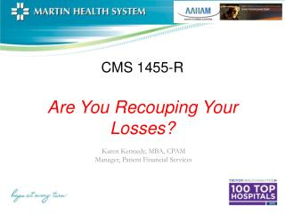 CMS 1455-R Are You Recouping Your Losses?