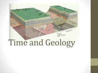 Time and Geology