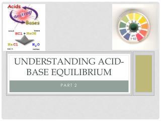 Understanding Acid-Base Equilibrium