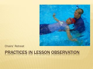 practices in Lesson observation