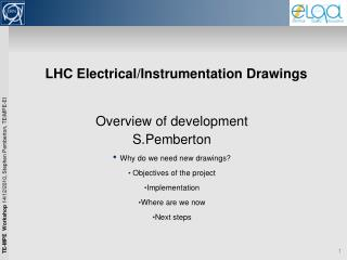 LHC Electrical/Instrumentation Drawings