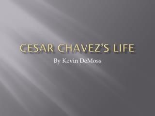 Cesar Chavez�s Life