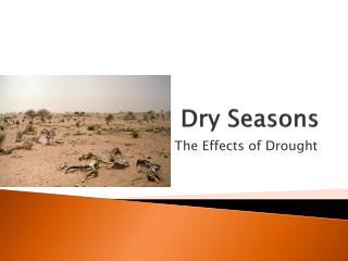 Dry Seasons