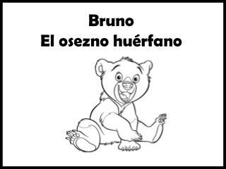 Bruno E l osezno huérfano