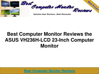 ASUS VH236H-LCD 23-Inch Computer Monitor