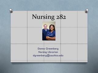 Nursing 282