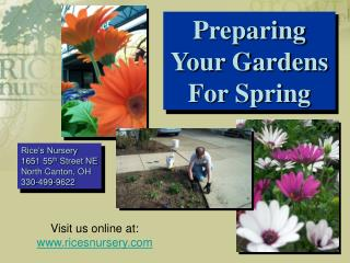 Preparing Your Gardens for Spr