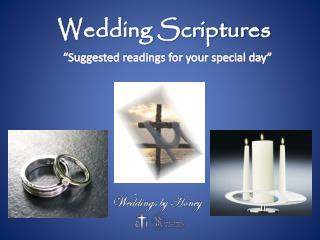 Wedding Scriptures