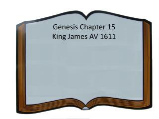 Genesis Chapter 15 King James AV 1611