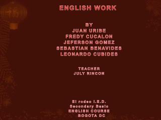 ENGLISHWORK
