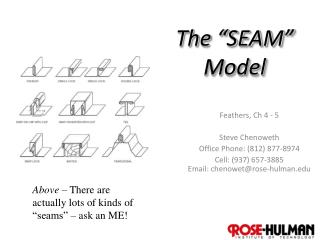 """The """"SEAM"""" Model"""