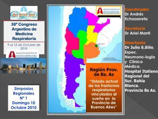 Simposios Regionales Nº 1 Domingo 10   Octubre 2010