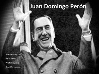 Juan Domingo  Per ó n