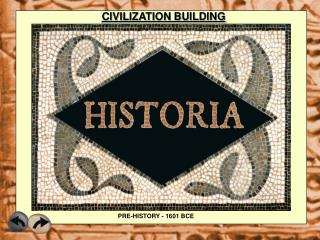 CIVILIZATION BUILDING