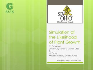 Simulation of the Likelihood of Plant Growth