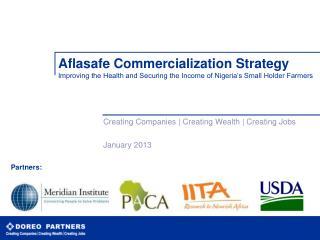 Creating Companies | Creating Wealth | Creating Jobs January 2013