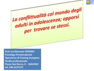 La conflittualità col mondo degli adulti in adolescenza; opporsi per trovare se stessi.