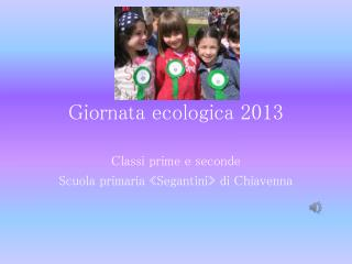 Giornata ecologica 2013