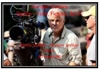 Hunger  Games Genre – Film, Fiction, Sci-Fi