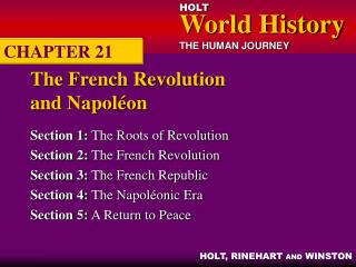 The French Revolution and Napol