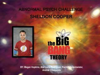 ABNORMAL PSYCH CHALLENGE