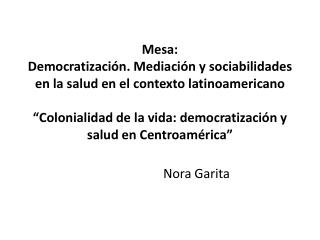 Nora Garita