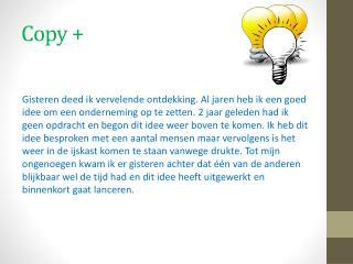 Copy +